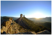 Chimney Rock Sunrise