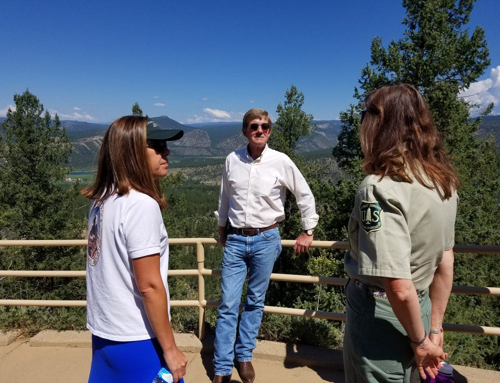 Congressman Scott Tipton Visits Chimney Rock National Monument